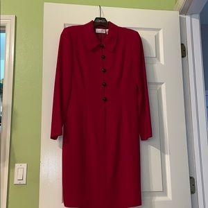 Liz Claiborne Petite Red Dress